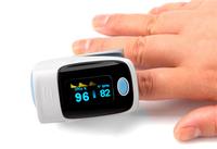 OLED Digital Finger Oximeter, Pulsioximetro Blood Oximetro Pulse Rate Heart Rate Monitor, Fingertip Pulse Oximeter 4BX8