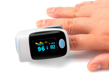 OLED Digital Finger Oximeter, Pulsioximetro Blood Oximetro Pulse Rate Heart Rate Monitor, Fingertip Pulse Oximeter 4BX8