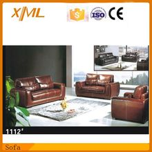 American classic vintage chesterfield leather sofa