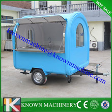 KN-FR220W width can be customized food cart trailer,fast food trailer,trailer for food