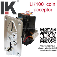 Protect your machines ! LK100 comperative programmable coin mech