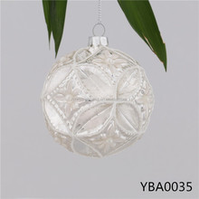 Popular Indigenous Materials Carved Glass Ball Handicrafts, Wholesale Factory China