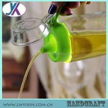 À prova de fugas fantasia 500 ml de vidro frascos de óleo de oliva
