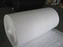pp woven fabric, white color