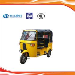Wholesale gasoline three wheel cabin bajaj with factory price