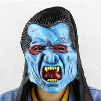 Wholesale cheap price ugly horrible vampire masks for halloween