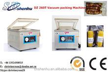 DZ 260T vacuum food sealer vacuum mahcine vacuum packing machine