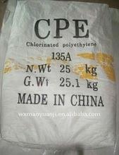 Chlorinated Polyethylene (CPE135B)25KG/PCS