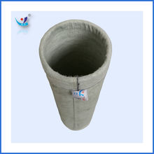 Non woven needle felt polyester dust filter bag for dust collector