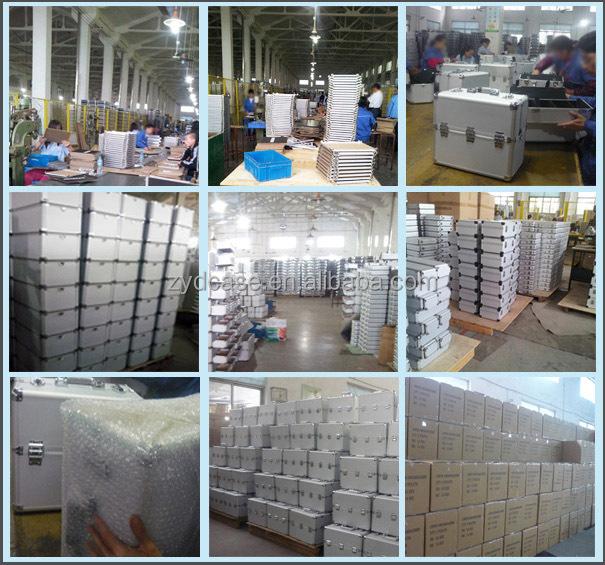High quality professional aluminum case cheap aluminum tool case custom aluminum case ZYD-GJ178