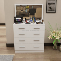 HX-MZ346 large capacity wood material storage bedroom dresser