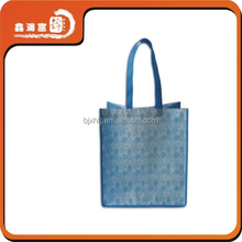 Hot sale recycled folding non woven bag with custom logo