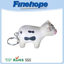 venta caliente populares llavero de la vaca
