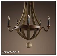 Wine Barrel Chandelier Lamp