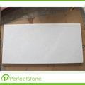 pulido de mármol blanco puro cristal de vietnam blanco de la cantera natrual piedra de mármol