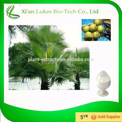 GMP & ISO Certified 25%/45% fatty acid saw palmetto extract by HPLC
