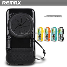 Remax Brand Soft Silicon Case for s4 zoom With Camera Protective Cap For Samsung Galaxy S4 Zoom C101 silicone Back Cover