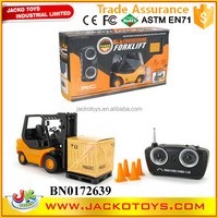Hot sale kids toy rc truck 1:20 6 cahnnels rc model toy forklift