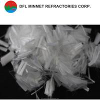 Virgin polypropylene staple fiber for construction