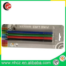 High quality 0.4MM fine liner pen assorted 4 colors in blister card