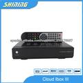 nube iBox iBox 3 Nube / receptor iii DVB-S2 C + DVB-T2 Tuner IPTV Satélite Digital