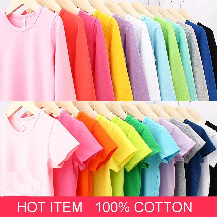 Autumn-New-100-Cotton-Kids-T-Shirt-Candy-Color-Long-Sleeve-Baby-Boys-Girls-T-Shirt