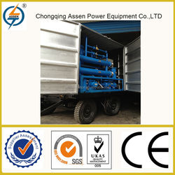 Zero pollution and lower cost degassing transformer oil dehydrator