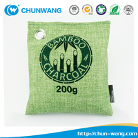 100% Natural Auto Air Purifying Bamboo Charcoal Bag Air Freshener