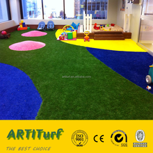 2016 new products more safe and comfortable low price outdoor indoor playground artificial turf