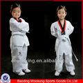 los niños personalizados de taekwondo uniformes artes marciales kimono