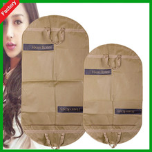 cheaper promotional wholesale recycled non woven suit garment packaging bag