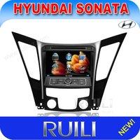 8 inch double din car multimedia dvd player for Hyundai Sonata 8