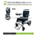 ce dobrável cadeira de rodas motorizada motor elétrico