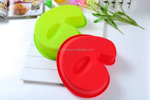 Hot sale Birthday number six shape silicone cupcake mold,cake pan,bakeware cake mold