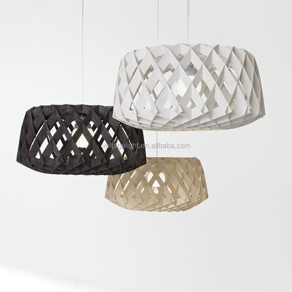 Moderne zin breien natuurlijke houten hanglamp met klassieke ...