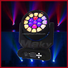 19pcs*12w led beam moving head light/LED sharpy moving head lights/led wedding fasion show music concert or club