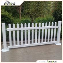 Fentech Design High quality plastic pvc fence/PVC temporary fence
