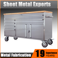 2015 New Design Rolling Tool Chest Stainless Steel Working Bench / Tool box / Tool Cabinet
