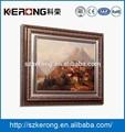 Pequeno cofre de parede com engrossado quadro pintura