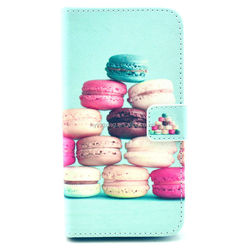 Funky design leather mobile phone cover case for samsung s5