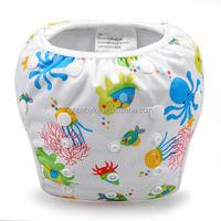 Ohbabyka JC Trade Cloth Swim Diapers Reusable Baby Swimming Pants