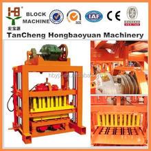 2015 más famoso QTJ 4-40 máquinas de bloques de hormigón Material de construcción ladrillo maquinaria fabricación de ladrillos
