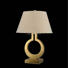 2015 new fashion decorative home and fabric table lamp
