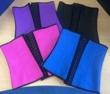 Wholessale Latex rubber plus size black corset waist trainers