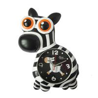 Fashion Beautiful Plastic Zebra Horse Wall Clock Wholesale