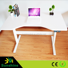 2015 New design electric control adjustable height office table for European Market