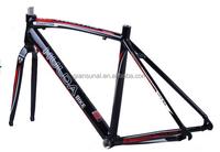 Modern road bicycle frame for custom design