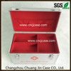 China profesional factory supply aluminum medical case with powder box