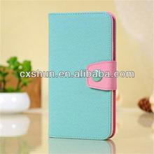 New design collision blue and pink color protective cases for samsung galaxy note 3 N9000