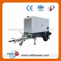20-500KW mobile genset ,movable trailer genset, 2 wheels/4wheels